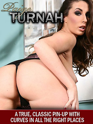 Paige Turnah natural curvy porn star