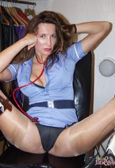 Nurse nylon jane and her medical equipment  nurse nylon jane and her medical equipment. Nurse Nylon Jane and her medical equipment