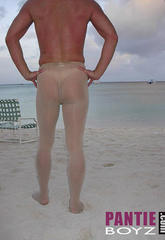 Nylon lover wearing pantyhose showing off his holiday shots  nylon lover wearing pantyhose showing off his holiday shots. Nylon lover wearing pantyhose showing off his holiday shots