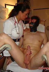Nurse strapon jane gives her slave a serious medical  nurse strapon jane gives her slave a serious medical. Nurse StrapOn Jane gives her slave a serious medical