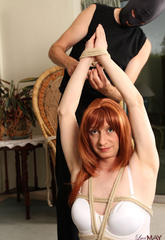 Lustful shemale bitch lucimay gets turned on and tied up by her master  lustful shemale bitch lucimay gets turned on and tied up by her master. Lustful tranny slut Lucimay gets turned on and tied up by her master