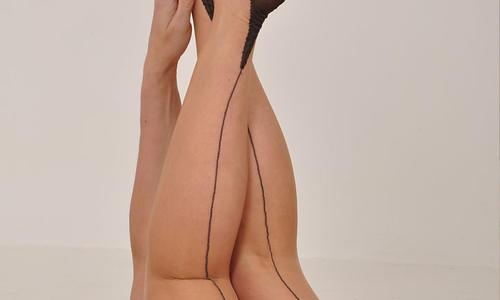Nylon Jane shows off those gorgeous