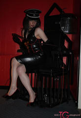 Dungeon diva kirsty is dressed in her mistress gear and looking to give a little bit of punishment out   dungeon diva kirsty is dressed in her mistress gear and looking to give a little bit of punishment out. Dungeon Diva Kirsty is dressed in her mistress gear and looking to give a little bit of punishment out.