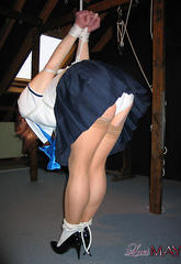 Lucimay hogtied in japanese schoolgirl outfit  lucimay hogtied in japanese schoolgirl outfit. Lucimay hogtied in japanese schoolgirl outfit
