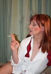 Shemale slut lucimay smoking seductively  shemale slut lucimay smoking seductively Tranny slut Lucimay smoking seductively.