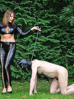 Unfortunately all dirty dogs must be walked in the park so they can do their business but when mistress carly walks her dog she make sure he his completely humiliated  unfortunately all dirty dogs must be walked in the park so they can do their business b. Unfortunately, all dirty dogs must be walked in the park, so they can do their business! But when Mistress Carly walks her dog, she make sure he his completely humiliated