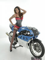 Fast bikes and nylon stockings now that s something a woman like jane loves to have between her long silky legs  fast bikes and nylon stockings now that s something a woman like jane loves to have between her long silky legs. Fast bikes and nylon stockings, now that's something a woman like Jane loves to have between her long silky legs