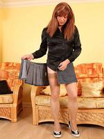 There s nothing like a short skirt to catch the attention of a boy and this one is so short it always helps turn heads the cute white panties are essential too and luci may gets so excited wearing a tiny little miniskirt that she can t resist playing with. There's nothing like a short skirt to catch the attention of a boy, and this one is so short it always helps turn heads! The cute white panties are essential too, and Luci May gets so excited wearing a tiny little miniskirt, that she can't resist playing with her hard cock