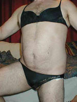 Crossdresser in tight nylon panties and sexy bra with a nice big cock inside  crossdresser in tight nylon panties and sexy bra with a nice big cock inside. Crossdresser in tight nylon panties and sexy bra with a nice big cock inside